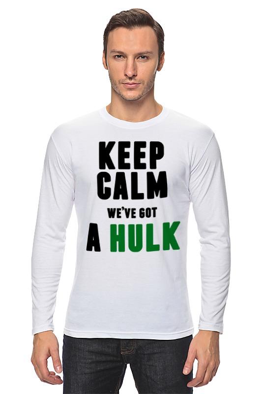 Лонгслив Printio У нас есть халк лонгслив printio халк hulk