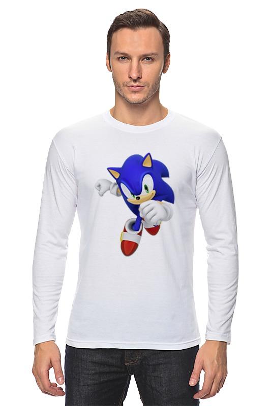 Лонгслив Printio Sonic sonic