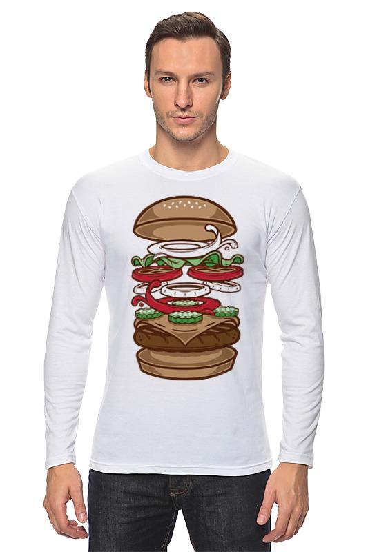 Лонгслив Printio Burger/бургер холст 60x90 printio burger бургер