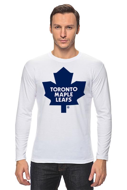 Лонгслив Printio Toronto maple leafs / nhl canada бейсболка nhl toronto maple leafs snapback