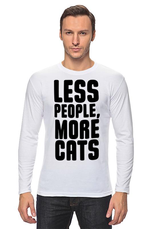 Printio Меньше людей, больше котов! сумка printio меньше людей больше котов