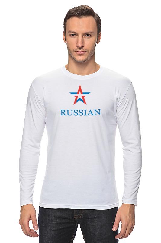 Лонгслив Printio Russian army