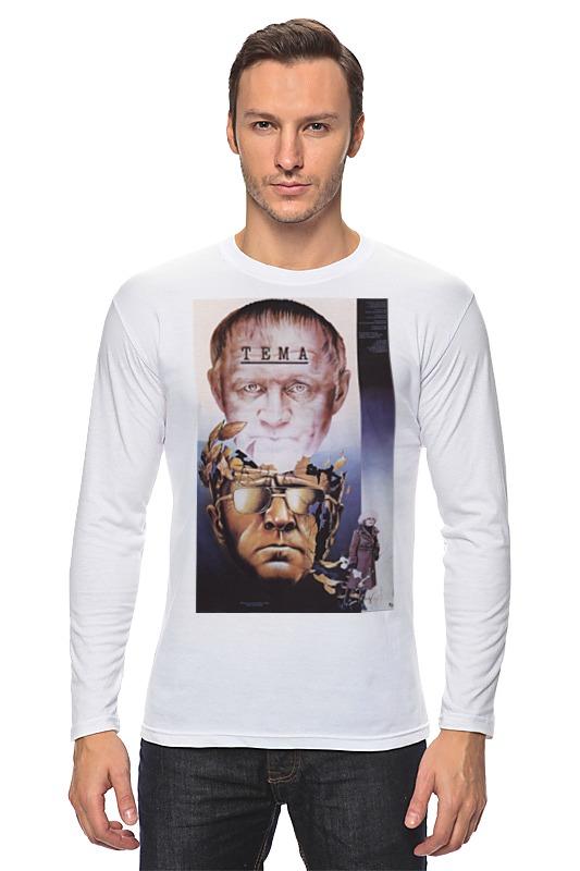 Лонгслив Printio Афиша к фильму тема, 1986 г. футболка wearcraft premium slim fit printio афиша к фильму тема 1986 г