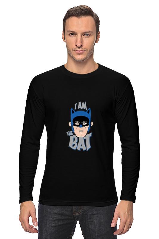Лонгслив Printio I am the bat лонгслив printio the notorious b i g