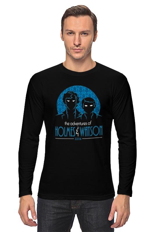 Лонгслив Printio Шерлок холмс и доктор ватсон шерлок холмс и доктор ватсон 2