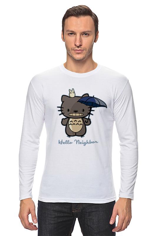 Лонгслив Printio Hello neighbor футболка классическая printio hello neighbor