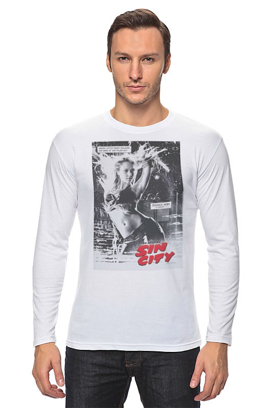 Лонгслив Printio Sin city - stenley leads футболка wearcraft premium slim fit printio sin city stenley leads