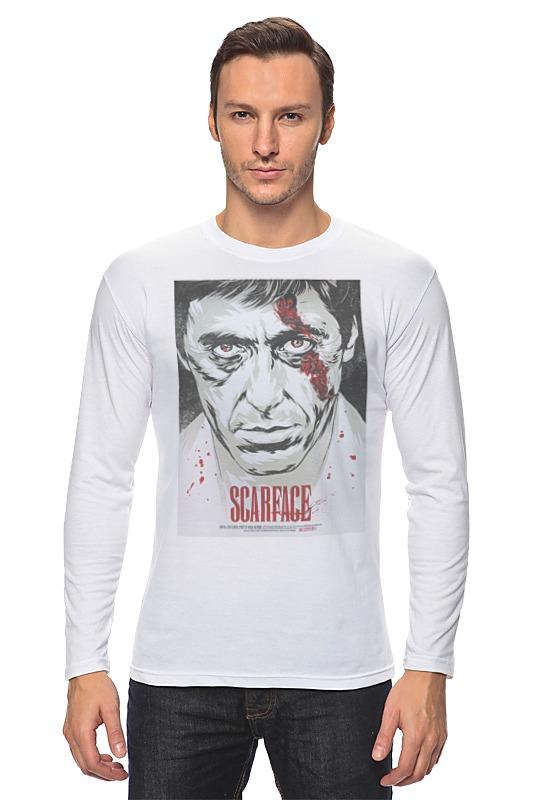 Лонгслив Printio Al pacino / ал пачино футболка wearcraft premium printio тони монтана лицо со шрамом