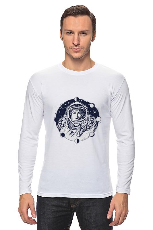 Лонгслив Printio День космонавтики. луна стоимость
