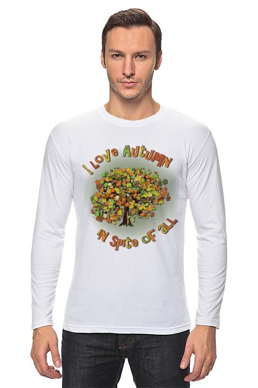 Лонгслив Printio Я люблю осень. дерево власова мария я люблю жизнь