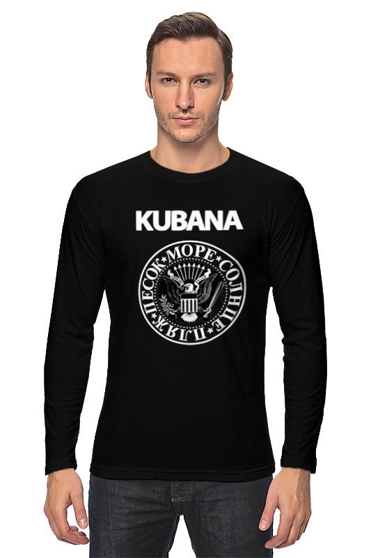 Лонгслив Printio Kubana сумка printio kubana