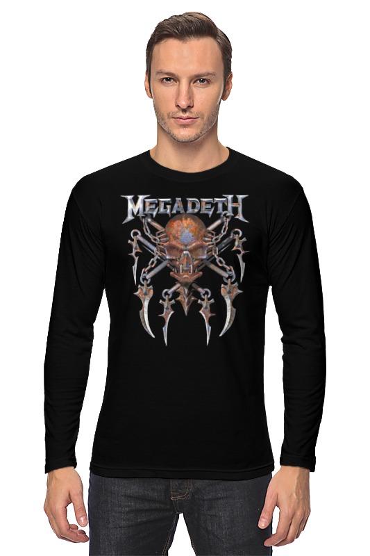 Лонгслив Printio Megadeth megadeth stockholm