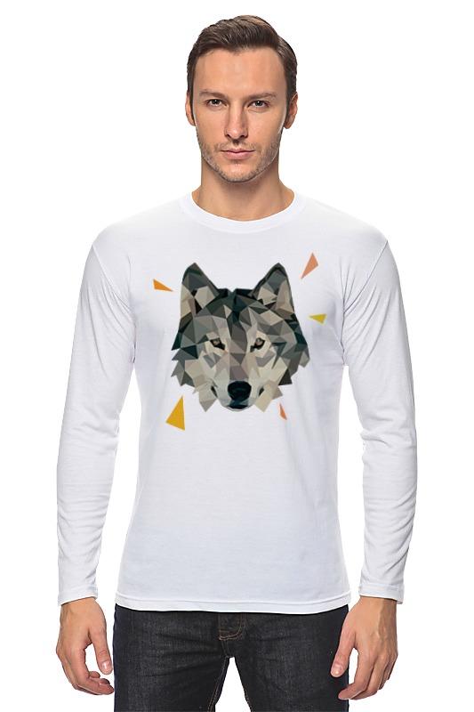 Лонгслив Printio Волк (wolf) цена 2017