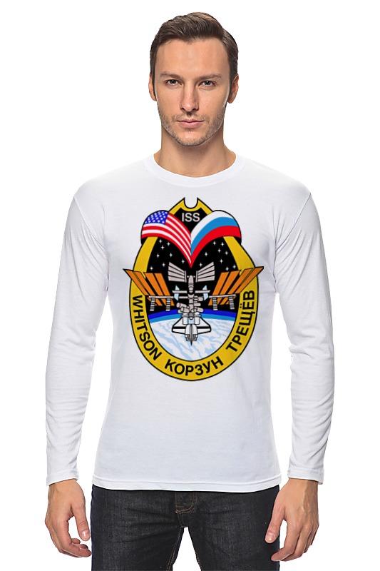 Лонгслив Printio Международная космическая станция. мкс-5 (iss-5)
