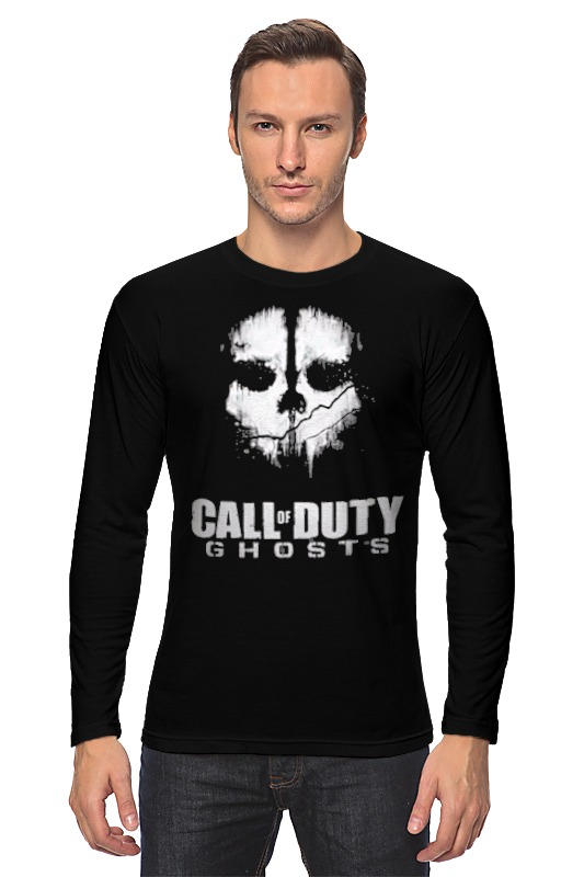 Лонгслив Printio Call of duty: ghosts sea of ghosts