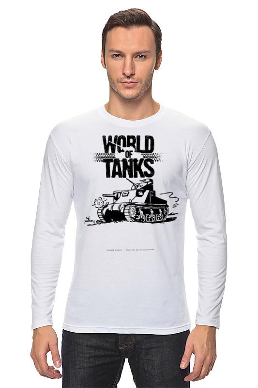 Лонгслив Printio World of tanks лонгслив men of all nations лонгслив поло