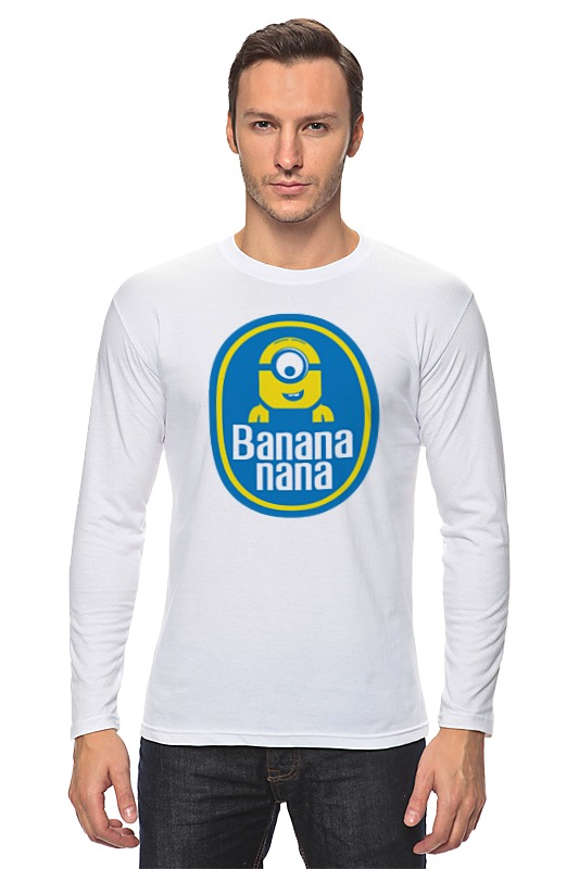 Лонгслив Printio Banana minion лонгслив printio spider minion