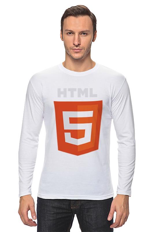 Лонгслив Printio Html5 сумка printio html5