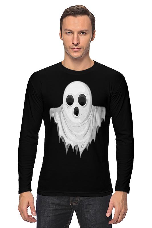 Лонгслив Printio Ghost ghost ghost meliora