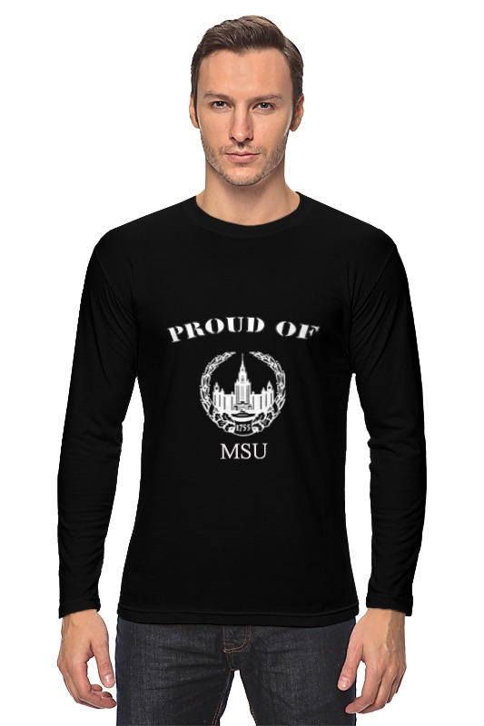 Лонгслив Printio Proud of msu детские штаны proud of tony mei