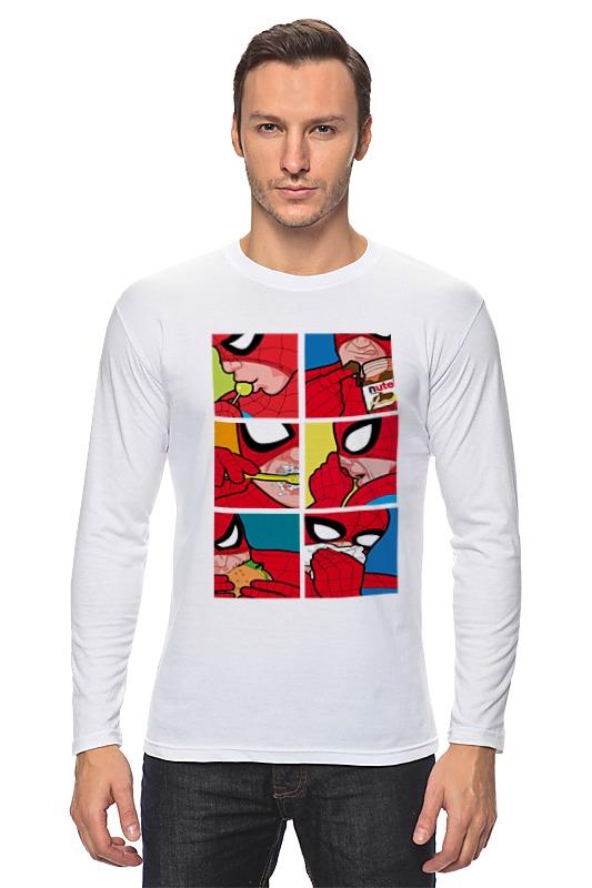 Лонгслив Printio Spider-man life лонгслив printio spider minion