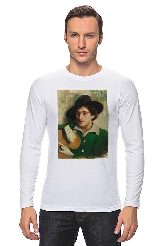 Лонгслив Printio Портрет марка шагала (юдель пэн) сумка printio портрет марка шагала юдель пэн