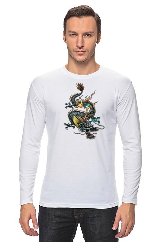 Лонгслив Printio Китайский дракон футболка wearcraft premium printio китайский дракон