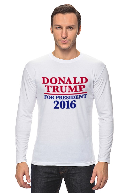 Лонгслив Printio Donald trump 2016 футболка print bar donald john trump