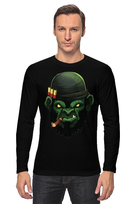 Лонгслив Printio War monkey/обезьяна лонгслив printio hamlet monkey