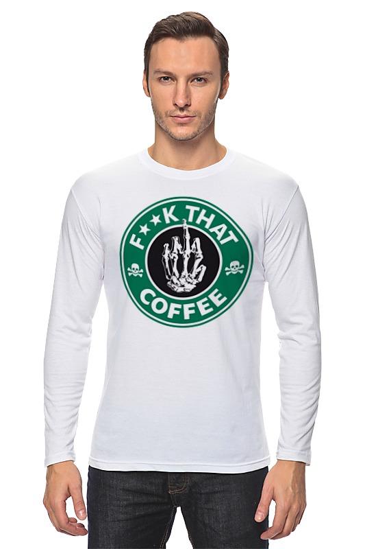 Лонгслив Printio Нах этот кофе (f**k that coffee) сумка printio нах этот кофе f k that coffee
