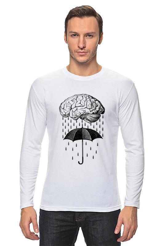 Printio Brain rain лонгслив printio the brain eaters