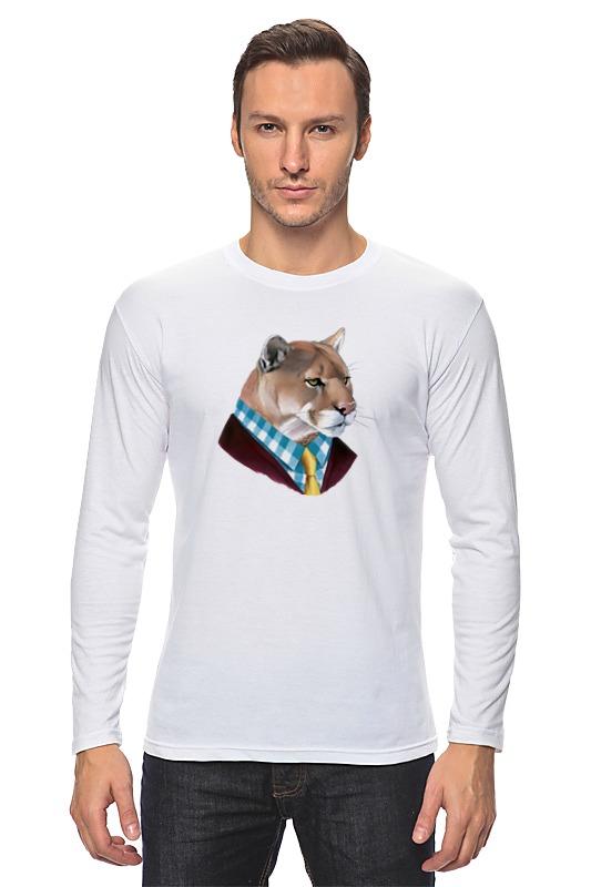 Лонгслив Printio Мудрый лев кошелек мудрый заяц