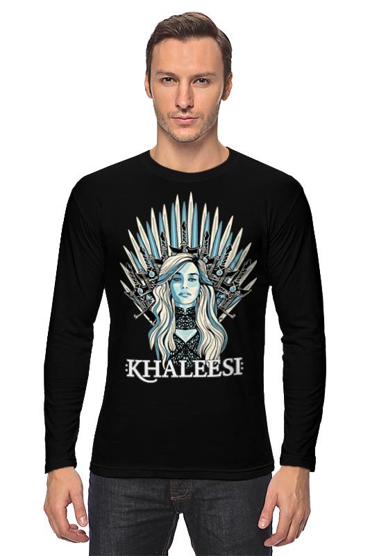 Лонгслив Printio Кхалиси-дайнерис (игра престолов) майка классическая printio кхалиси дайнерис игра престолов