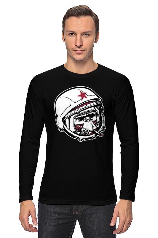 Лонгслив Printio Обезьяна зомби астронавт детская футболка классическая унисекс printio обезьяна зомби астронавт