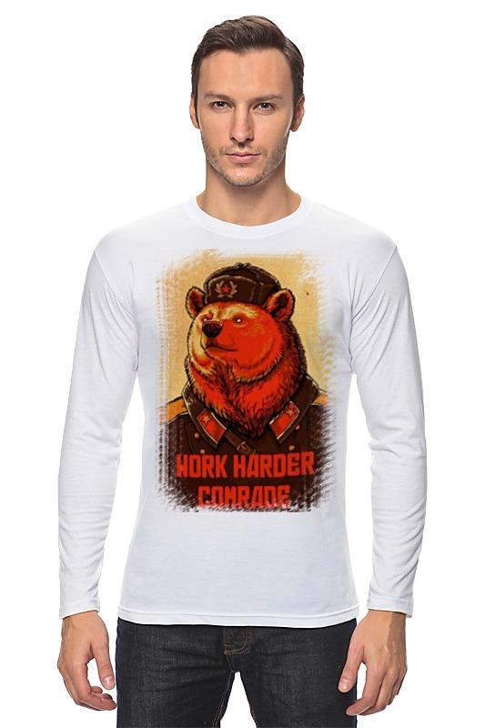 цена на Лонгслив Printio Comrade bear