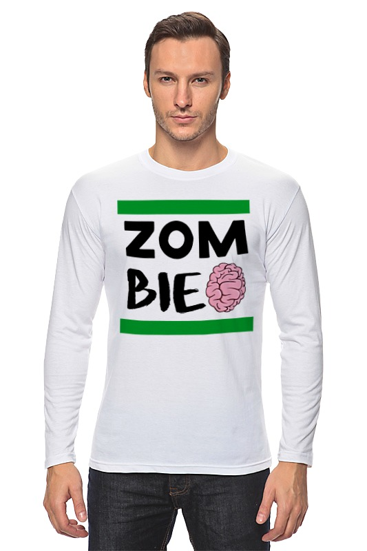 Лонгслив Printio Зомби (zombie)