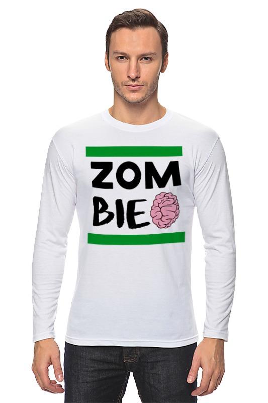 Лонгслив Printio Зомби (zombie) цена