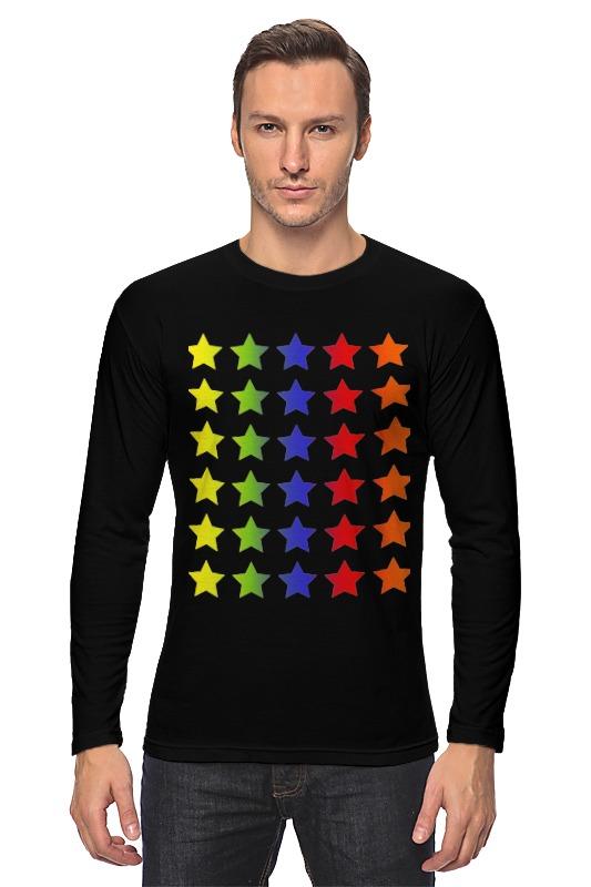 Лонгслив Printio Яркие звезды rubis пинцет классик шесть звезд