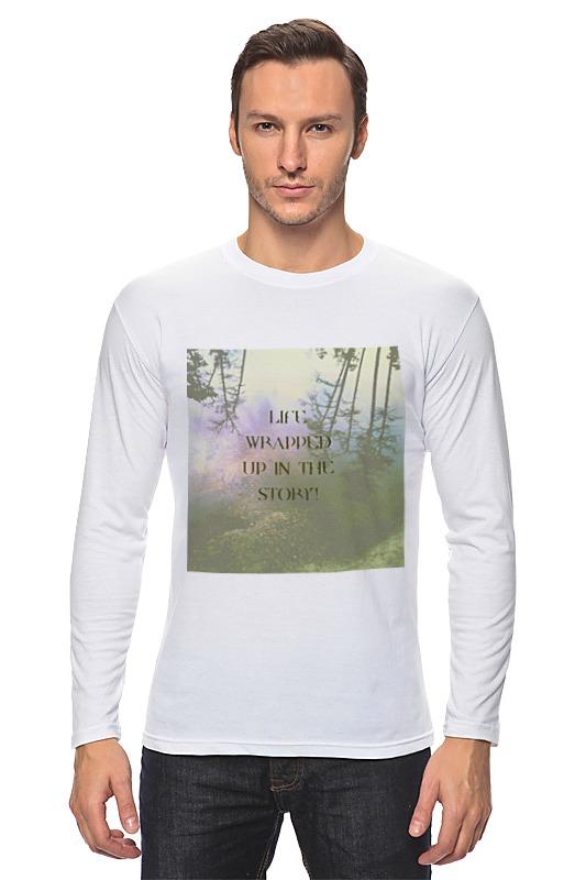 Лонгслив Printio Стиль арт-фэшн pine forest пазл магнитный 27 4 x 30 4 210 элементов printio стиль арт фэшн pine forest