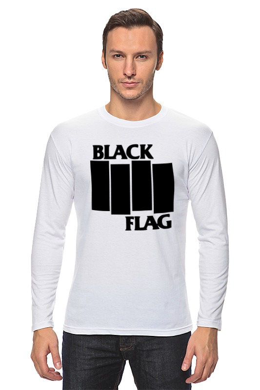 Лонгслив Printio Black flag сумка printio black flag