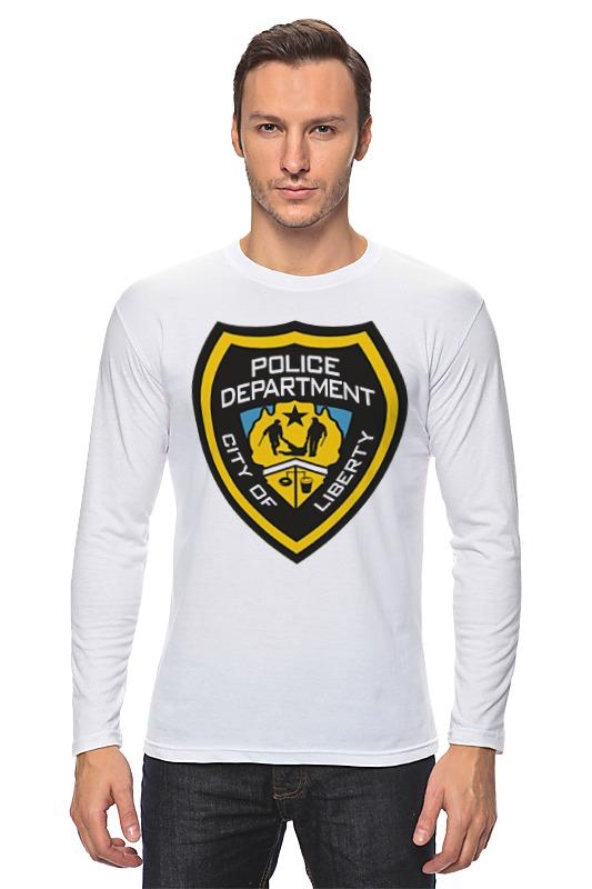 Лонгслив Printio Police department police police pl 12550js 61m