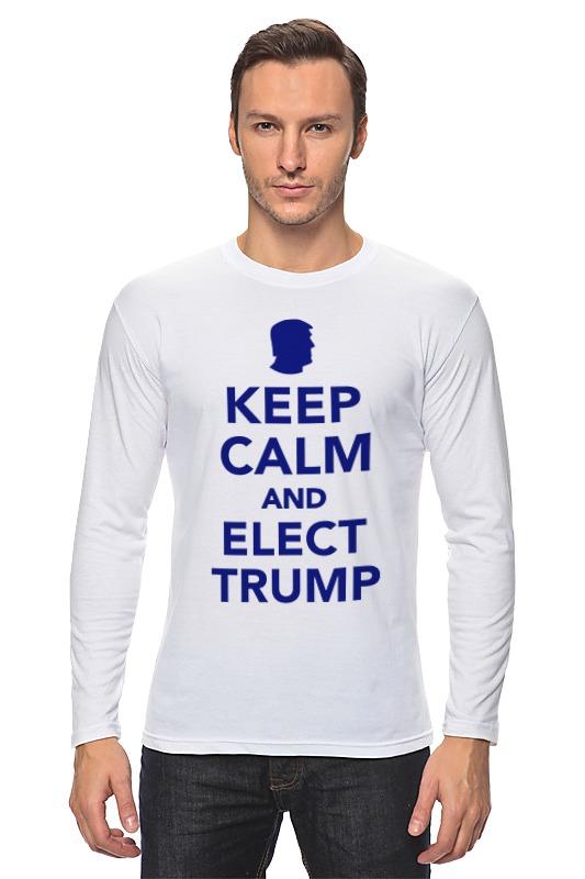 Лонгслив Printio Elect trump цена и фото