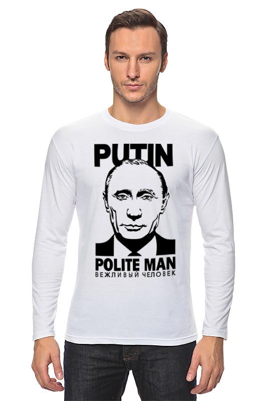 Лонгслив Printio Путин (putin)