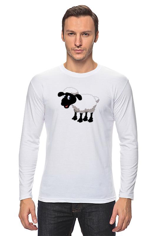 Лонгслив Printio Белая овечка лонгслив printio модная овечка