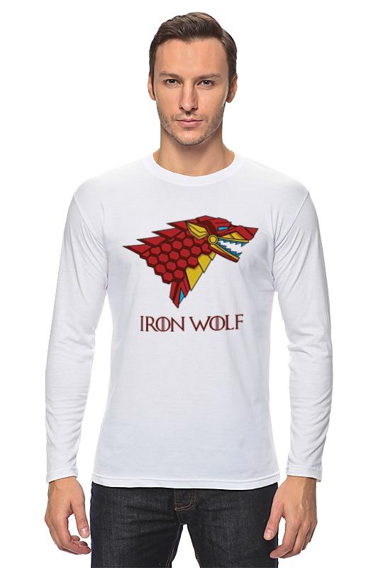 Printio Iron wolf (stark x iron man) лонгслив printio batman x iron man