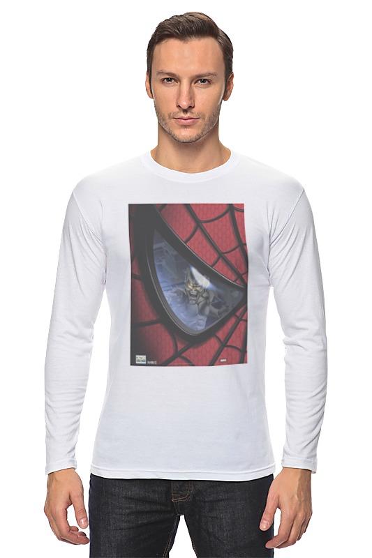 Лонгслив Printio Spider man / человек паук spider man человек паук на боевой машине page 3