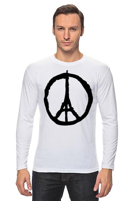 все цены на Лонгслив Printio Мир парижу (peace for paris)