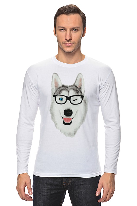 Printio Хаски в очках цена