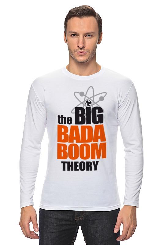 все цены на Лонгслив Printio Теория большого бадабума