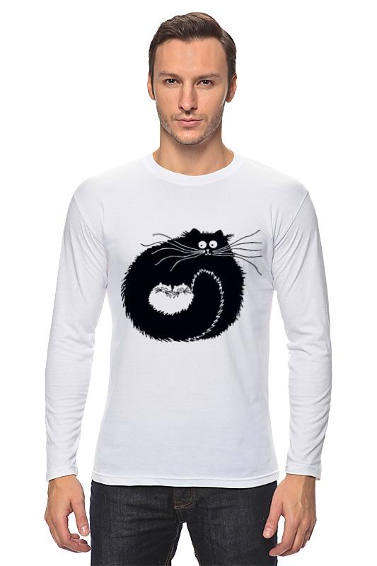 Лонгслив Printio Котэ-сумка сумка printio чёрный кот